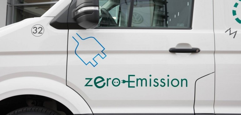 De VW E-Crafter Zero-emissie  nu al bij Top Movers !